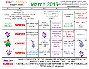 March-2013